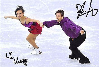 Liubov ILYUSHECHKINA / Dylan MOSCOVITCH  - CAN - Eiskunstlauf - Foto sig. (1)