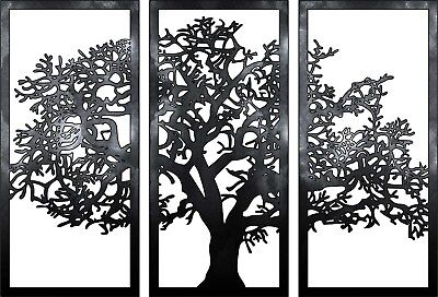 Dxf-cdr Of Plasma Laser And Router Tree Panel Art