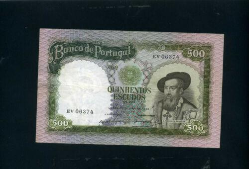 Portugal 500 escudos 1958 P162 - VF