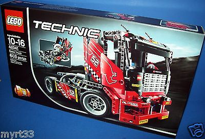 LEGO 42041 RACE TRUCK TECHNIC - sold out ..build 2 in 1 ...new sealed age 10-16