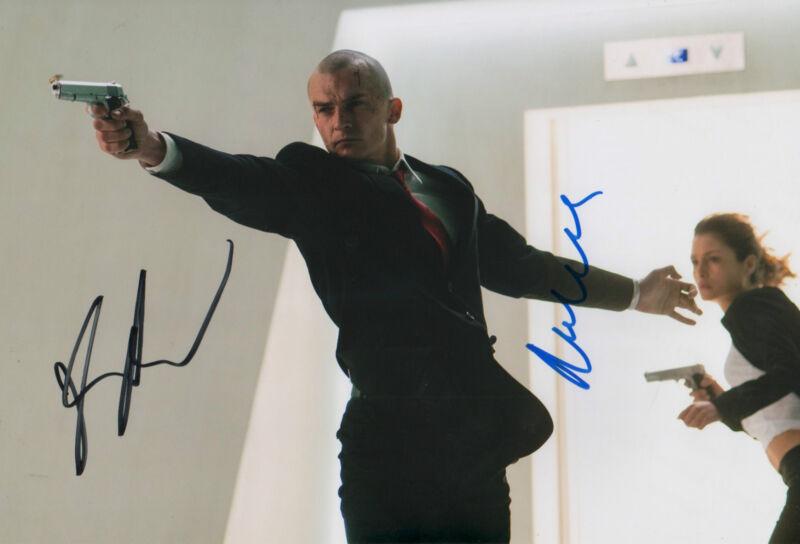 """Rupert Friend & Hannah Ware """"Hitman"""" Autogramme signed 20x30 cm Bild"""