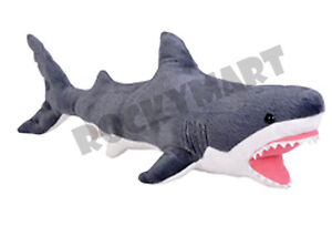 Shark Great White Plush Stuffed Animal Aquatic Sea - Ocean Creature *16 Inch*