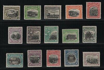 Portugal - 1925 Mozambique Company - Local Scenes - Complete Set - MH
