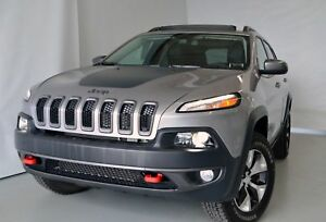 2018 Jeep Cherokee Trailhawk TOIT PANORAMIQUE V6 CUIR GPS