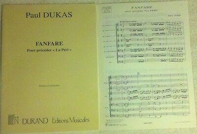 "Fanfare from ""La Peri"" - Paul Dukas - Brass Choir - Brass Sheet Music"