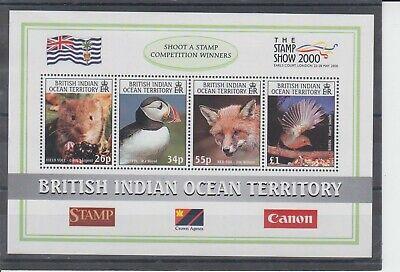 British Indian Ocean Territory 2000 Stamp Show MS MNH