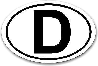 D Magnetschild Auto Schild Magnet Deutschland abnehmbar KFZ Länderkennzeichen