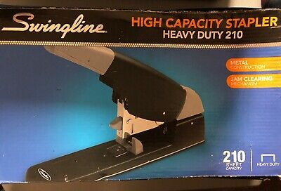 New Swingline 90002 High Capacity Stapler Heavy Duty 210 Sheet