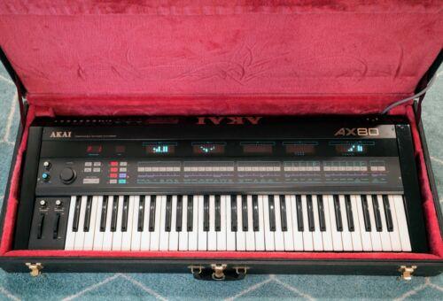 Akai AX80 Synthesizer