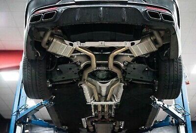 Levella Abgasanlage Mercedes S500 und S63 AMG Coupé 5,5l und 4,0l Biturbo C217