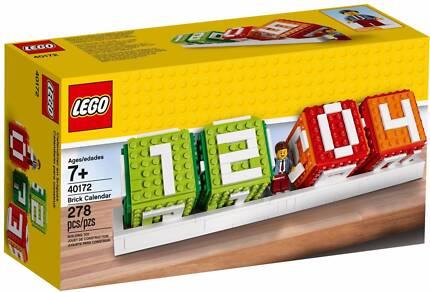 LEGO Seasonal - 40172 Iconic Brick Calendar - Brand New