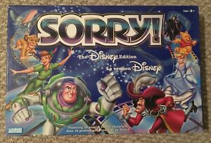 Sorry Board Game *Disney Version
