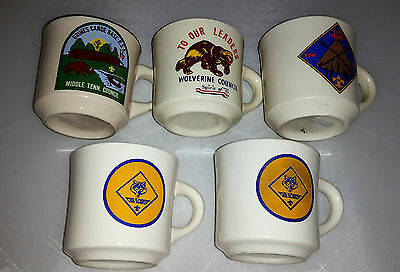 Boy Scout / Cub Scout Coffee Mug Collection