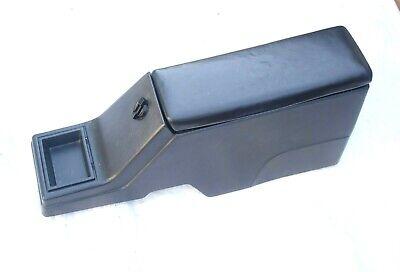 86-93 Chevy S10 Blazer Center Console Armrest Oem Gmc Jimmy Trim BLACK Bezel Lid