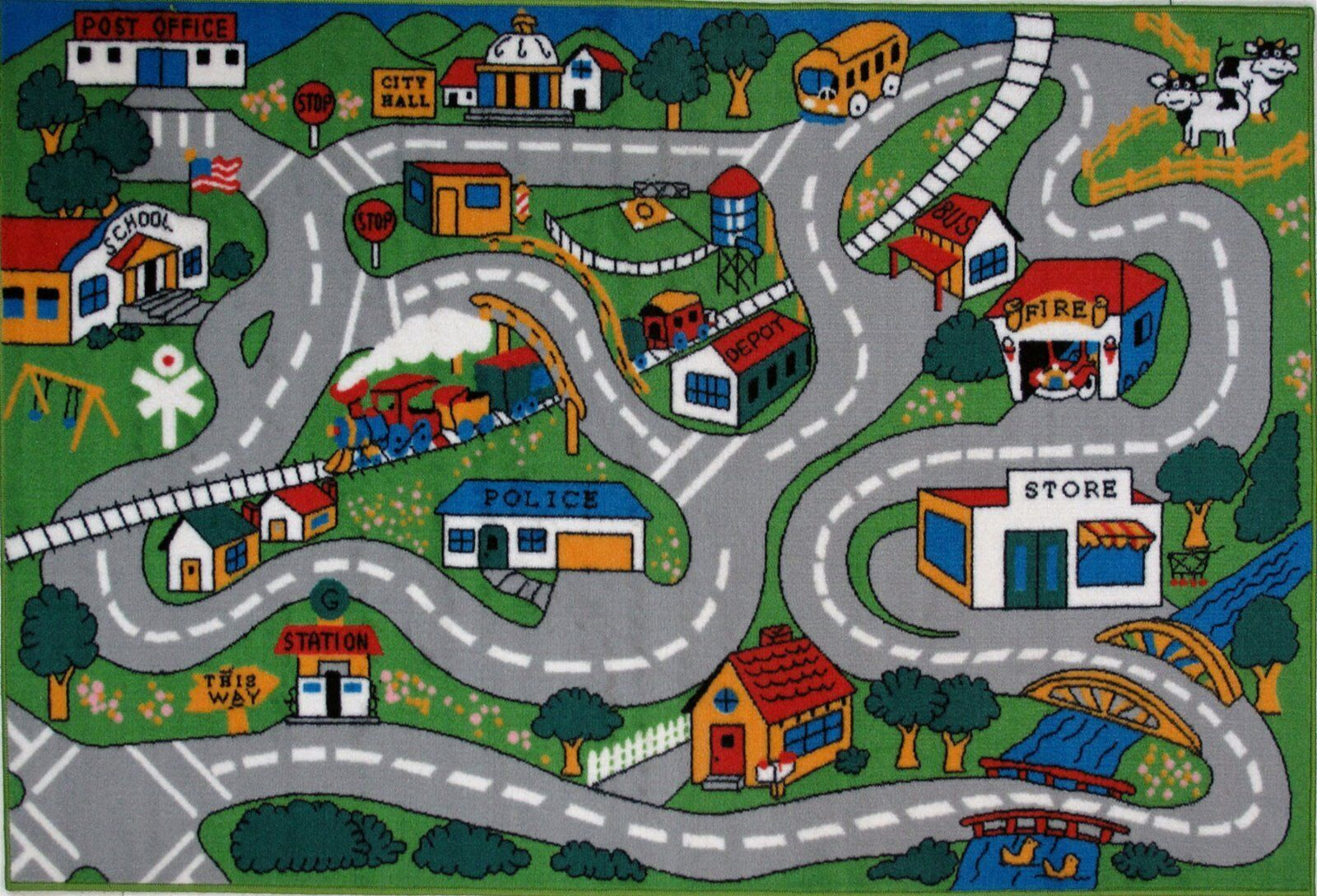 playground road for kids cars - HD1800×1224