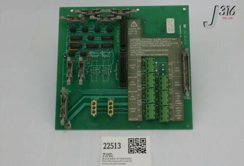 22513 Mda Scientific Pcb, Controller, Backplane Sys 16 872838