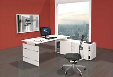 """Eckschreibtisch /""""TOKYO/"""" Büromöbel Schreibtisch Winkelschreibtisch Sideboard"""