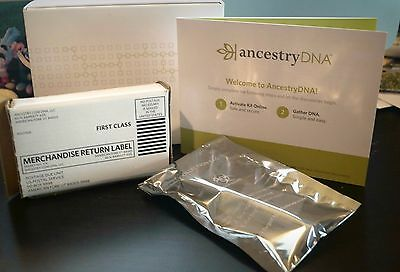 New    Free Shipping  Dna Ancestry Test Kit  Genetic Testing