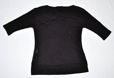 Women's PUMA x HUSSEIN CHALAYAN Long Sleeve Top Black size XS $80