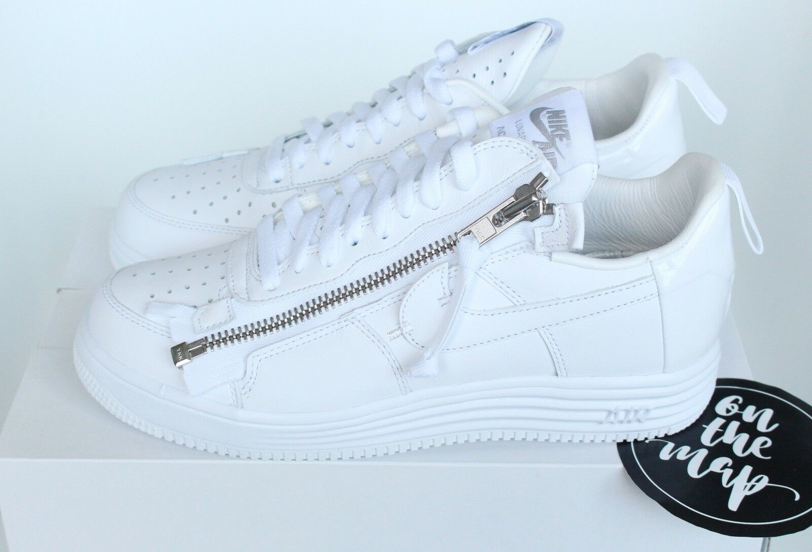 best website 45a03 1503e Nike Air Lunar Force 1 Low Acronym '17 AF1 Complexcon White UK 5 9 10 11 US  New