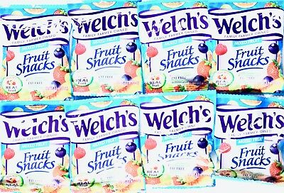 Welch's Mixed Fruit Snacks Chewy Gummies Fat-Free, 0.9 Ounce - Welchs Fruit Snacks
