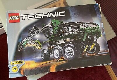LEGO TECHNIC Set 8446 CRANE TRUCK complete with Damaged box and instructions