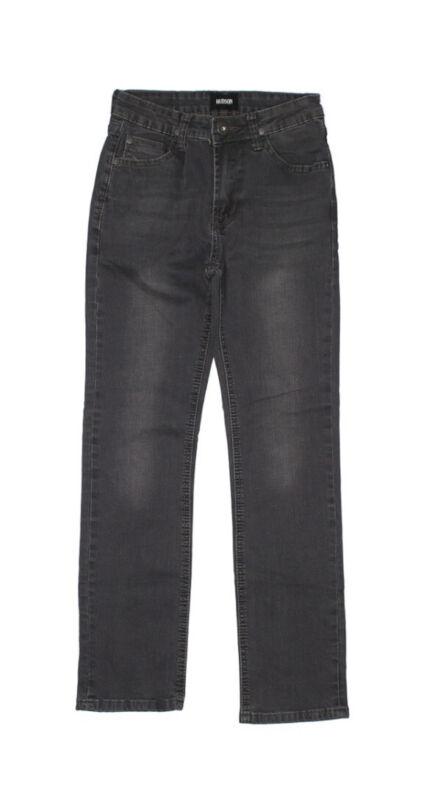 Hudson Jeans Boys Sz 12 Black/Gray Straight Leg EUC