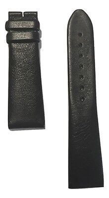 Original Movado Black Leather Band Strap for Mens Museum 0606502, 0606610