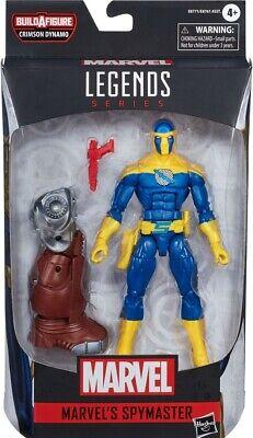 Marvel Legends NEW * Spymaster * Black Widow BAF Crimson Dynamo Action Figure