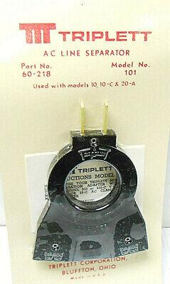 60-218 Triplet Power Splitter  Model 101 New Old Stock