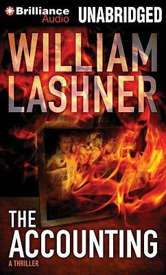 THE ACCOUNTING unabridged audio book on CD by WILLIAM LASHNER