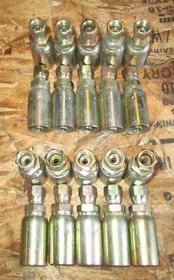 20 Pack Genuine Weatherhead U Series Hydraulic Fittings 06u-604 20 Fittings