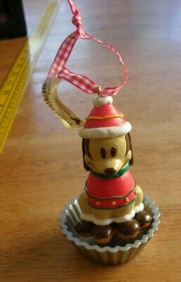Mickey Mouse in Dog Christmas costume ornament Disney 2000s NWT wobbler](Dog Mickey Mouse Costume)