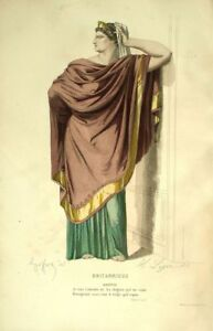 Britannicus-Agripina-Traje-Teatro-Jean-Racine-grabado-siglo-XIX