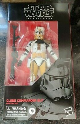 "Star Wars Black Series 6"" CLONE WARS COMMANDER BLY JEDI ORDER 66 NEW IN STOCK"