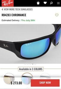 Ray-Ban CHROMANCE  RB 4283 – CH polarized brand new