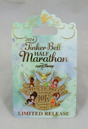 Disney Disneyland Pin - 2014 Tinker Bell Inaugural 10K - Fairies - Rosetta Fawn