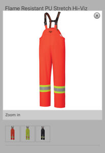 NEW with tags!! Hi-Vis FR waterproof, windproof overalls XXL
