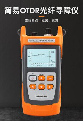 Aua28u Optical Fiber Ranger Otdr Meter 5m-60km Optical Time Domain Reflectometer