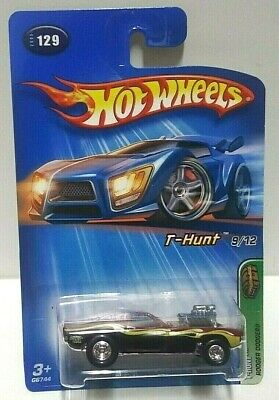 2005 Hot Wheels Treasure Hunt Rodger Dodger Real Riders! w/Protector Pack