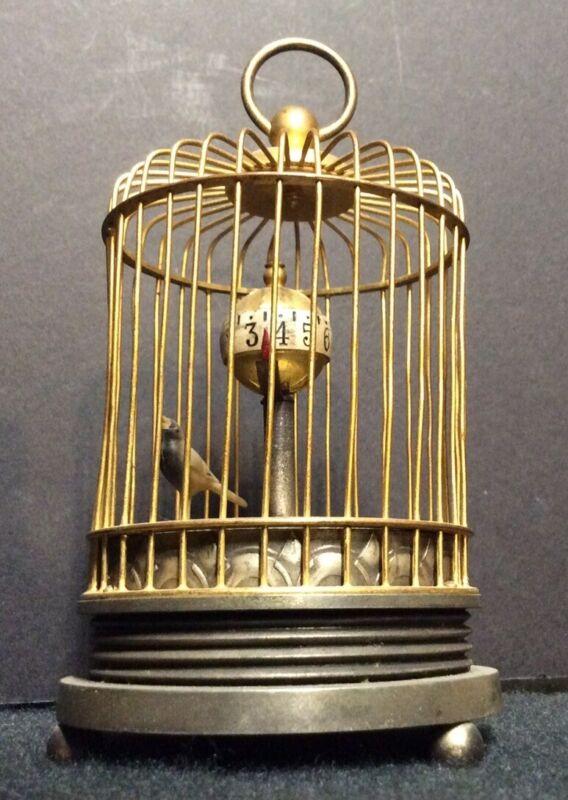Vintage Japanese Birdcage Clock