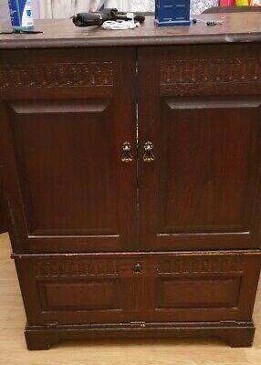 Antique drawers cabinet Brown - large - living room/Bedroom