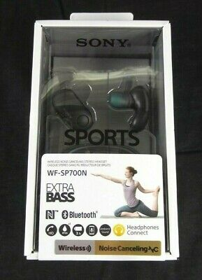 Sony Wireless Bluetooth In Ear Headphones: Noise Cancelling Sports Ear Buds (Blue Noise Canceling Ear Buds)
