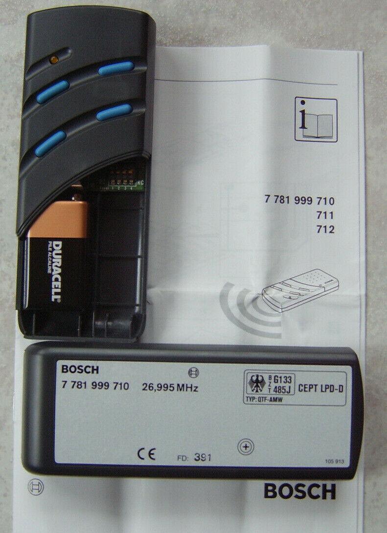 Handsender 7781999745 Bosch Somfy Keasy S 433,92 MHz