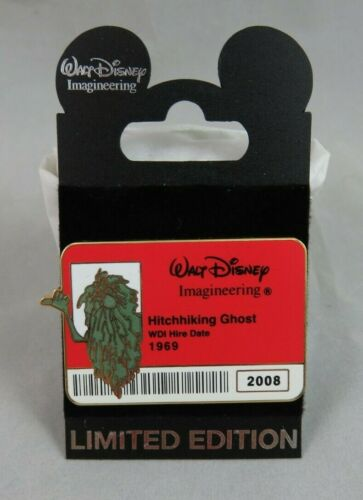 Disney WDI Pin - Cast ID Badge Series 2 - Haunted Mansion Hitchhiking Ghost Gus