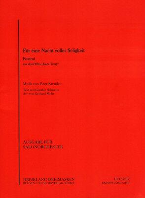 Für eine Nacht voller Seligkeit Noten Combo Salonorchester Gerhard Mohr (Arr.)