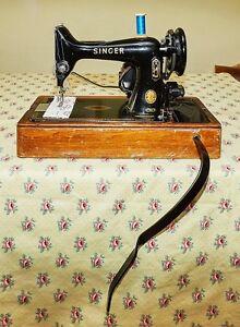 Singer 99K Vintage Sewing Machine. Geelong Geelong City Preview
