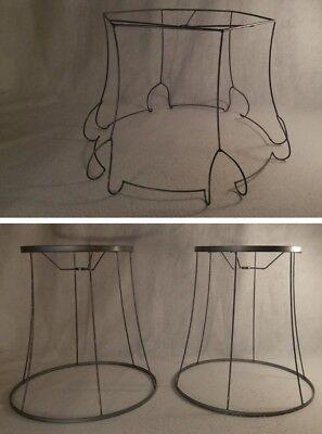 Custom Made Lamp Shades - Lamp Shade Wire Frames U-PICK Bell Floor Hanging Custom Made Unique DIY Ornate