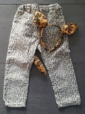 Katze Kostüm Mädchen Leopard Hose