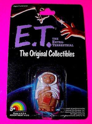 Vtg E.T LJN  NEW ET DOLL ALIEN FIGURE SUPER RARE in Blue Robe Reading a Book USA - Alien Robe